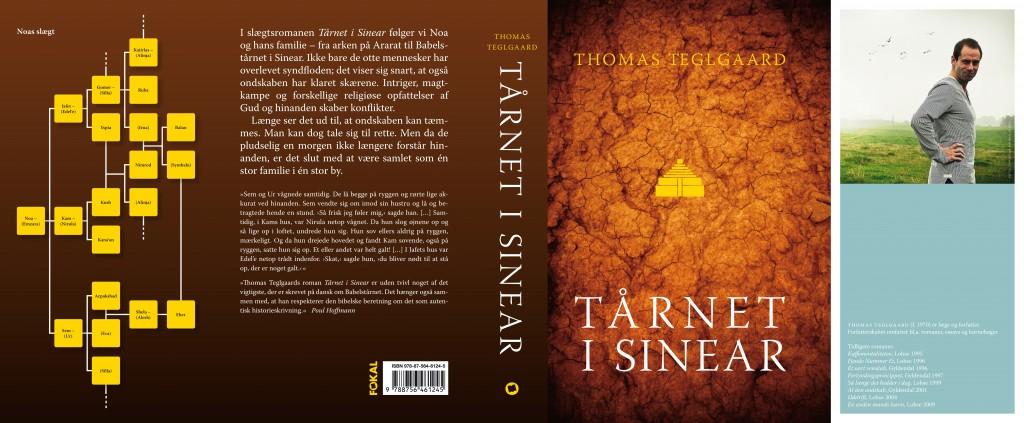 Omslaget til Tårnet i Sinear